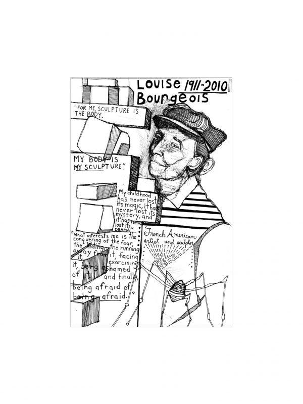 Veronica De Jesus, Hello Now, Louise Bourgeois