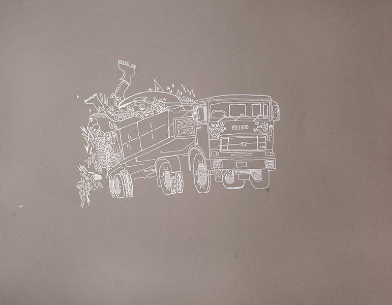Veronica De Jesus, Truck, 2014