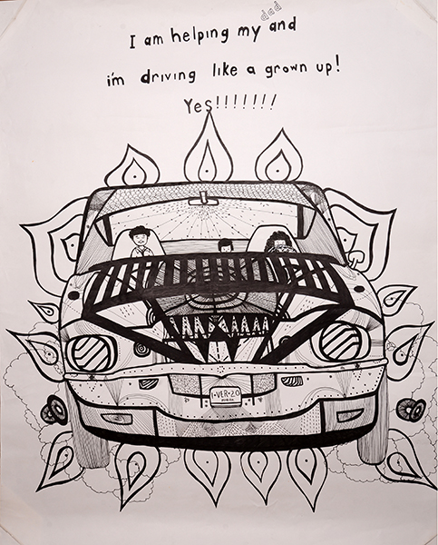 Veronica De Jesus, Learning How to Drive on Highway 10, 2005